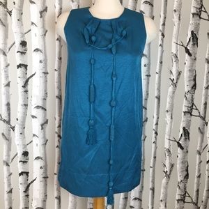 Charlotte Russe 60s Style Blue Dress